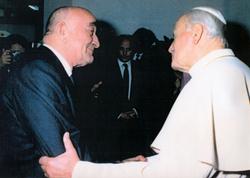 Dr. Vojta beim Papst